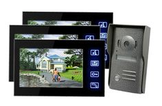 259.00$  Watch here - http://aliiqi.worldwells.pw/go.php?t=32729824113 - Freeship Door Monitor Video Intercom Door Entry Intercom Systems Home Door Camera With 7inch LCD Touch Screen 259.00$
