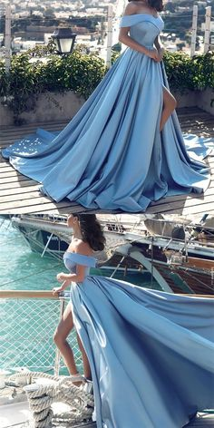 off shoulder prom dress,satin evening gowns,sexy long formal dress,prom dresses 2018