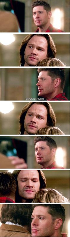 Supernatural 12x22//Who We Are. They were a real family. And it all got taken away. I hate it. They lost their Mom and best friend all in the same day.