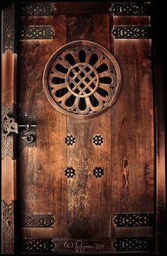 Meiji Shrine Door by Pajunen - Tokyo, Japan