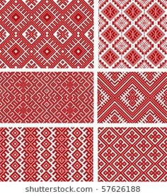 Folk Embroidery more romanian embroidery patterns Embroidery Motifs, Diy Embroidery, Cross Stitch Embroidery, Embroidery Designs, Textile Patterns, Beading Patterns, Print Patterns, Textiles, Just Cross Stitch