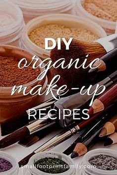 The majority of cosmetics contain chemicals and toxins that could potentially harm you, your skin, and age you ahead of your years. Using ingredients from your kitchen, you can make and replace everything in your makeup bag!