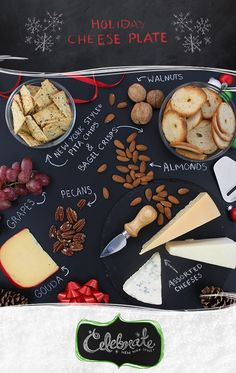 New York Style®snacks were practically made for accompanying a cheese plate - a great appetizer for entertaining. Arrange a variety of cheese along with nuts, fruit and New York Style® Bagel Crisps and Pita Chips and let your guests go to town! Repin for your chance to WIN free New York Style® for your holiday entertaining!