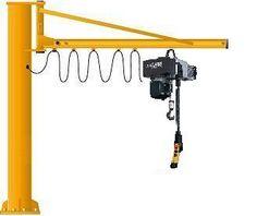 Swing jib crane