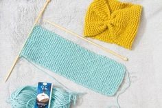 Easy Knitting Projects, Fun Projects, Crochet Bikini, Knit Crochet, Diy Clothes, Headbands, Textiles, Diy Crafts, Wool