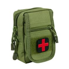 NcStar Compact Trauma Kit 1 Green *** Visit the image link more details.-It is an affiliate link to Amazon. #CampingSafetyandSurvivalEquipments