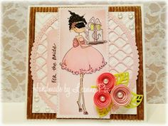 A bridal shower card Finding my groove...