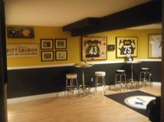 Turning Your Basement into the Ultimate Man Cave Can Be Fun - Man Cave Home Bar Man Cave Diy, Man Cave Home Bar, Man Cave Basement, Man Cave Garage, Home Bar Accessories, Ultimate Man Cave, Old Kitchen, Bars For Home, Game Room
