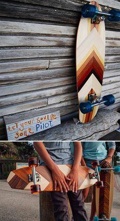 Sanford Shapes Cruiser Skateboards