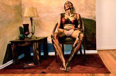Hyper-Realistic Acrylic Body Painting - Alexa Meade