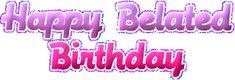 Decent Image Scraps: Belated Birthday