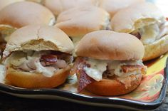 Turkey, Bacon, Ranch Sliders with Blue Cheese 033.jpg by From Valerie's Kitchen, via Flickr