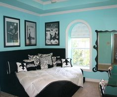 Tiffany Blue Teen Bedroom