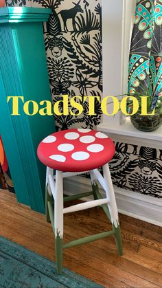 Funky Painted Furniture, Refurbished Furniture, Upcycled Furniture, Furniture Makeover, Diy Furniture, Upcycled Home Decor, Chair Makeover, Colorful Furniture, Patio Decorating Ideas On A Budget
