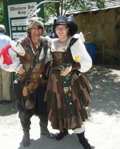 Scarborough renaissance Fair Tx. Pirate costumes.