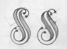 Cabecera para My Styletto, 2012 by Tania Quindós, via Behance Doodle Lettering, Typography Letters, Hand Lettering, Typo Logo Design, Branding Design, Graphic Design, Old Fonts, Drawing Letters, Learn Art
