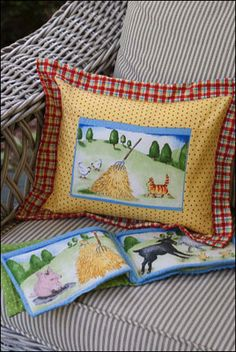 Quick Quilts#107 – Old MacDonald's Farm Fun Pillow and Cloth Book