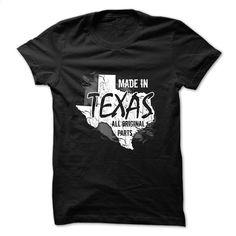 Texas t-shirt – Made in Texas T Shirt, Hoodie, Sweatshirts - custom sweatshirts #tee #teeshirt