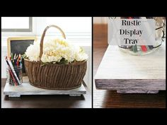 Happy At Home: How to Make an Easy Rustic Tray