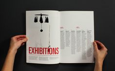 Craft - Annual Report by Camilla Edvardsen, via Behance