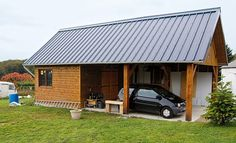1000 ideas about garage en bois on pinterest for Construire son garage soi meme