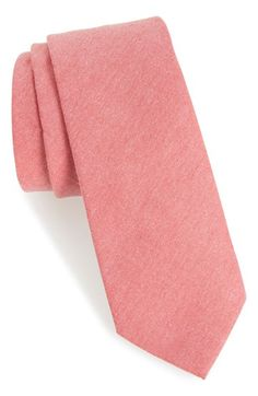 1901 'Tucci' Solid Cotton Tie available at #Nordstrom