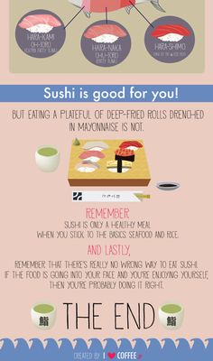 8 things worth knowing about eating sushi - I Love Coffee