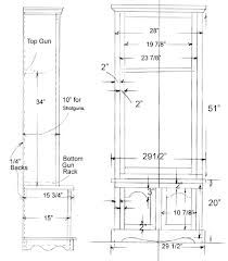 Merveilleux Plans For A Gun Cabinet   To Give An Antique Look To Your Collection Plans  For A Gun Cabinet Are You A Looking For A Gun Cabinet For Your Collection  Of Guns ...