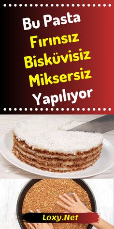 Cake Recipe Without Oven, Biscuit, Mixer , Cake Recipes Without Oven, Easy Desserts, Dessert Recipes, Yummy Food, Tasty, Recipe Mix, Strawberry Desserts, Pastry Cake, Turkish Recipes
