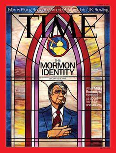 October 8, 2012: Mitt Romney's Mormon Identity. Read the cover story here: http://ti.me/RkZubH