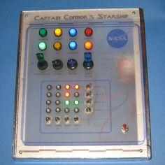 Kids Spaceship control panel Prop
