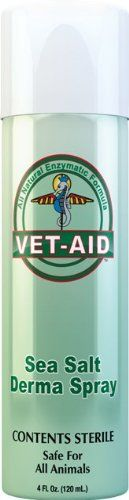 Vet Aid Sea Salt Wound Care Spray, 4-Ounce - http://spicegrinder.biz/vet-aid-sea-salt-wound-care-spray-4-ounce/