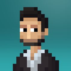 Personalised Pixel Avatars & Portraits • http://www.stonedragon.co.uk