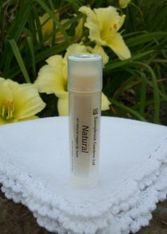 Unscented Lip Balm, all natural, vegan friendly, cruelty free, handcrafted with organic ingredients