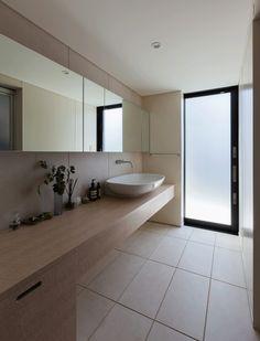 洗面脱衣室(Think of a distance) - バス/トイレ事例|SUVACO(スバコ) Bathtub, Bathroom, Standing Bath, Washroom, Bathtubs, Bath Room, Bath, Bathrooms, Bath Tub