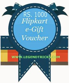 How To Earn Flipkart eVouchers Easily!  Flipkart is one of the best Online Mega Store as you know. Now-a-days most of people are very addicted to online shopping websites. Even I use flipkart, Im a regular shopper too. :)  So, if you like flipkart and do shopping with it you are at perfect place. Today Im gonna tell you how you can Earn Flipkart Vouchers or eVouchers easily :D.. You can earn upto Rs 1000 Flipkart Voucher Easily.