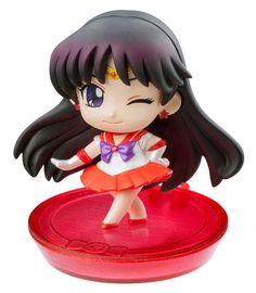 Sailor Moon Petit Chara Land Pretty Soldier - Sailor Mars Variante B  Sailor Moon - Hadesflamme - Merchandise - Onlineshop für alles was das (Fan) Herz begehrt!