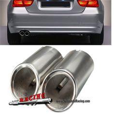 Juego de Puntas de Escape Acero Inoxidable Para BMW E90 E92 325 3 Series 325i 328i 06-10 -- 28,21€