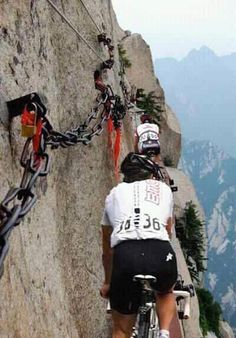 fear of heights is much greater than desire to ride