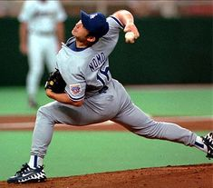 16. Hideo Nomo (1995 NL Rookie of the Year)