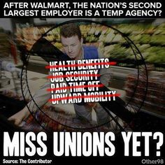 You hate.. a liveable wage? Five day work weeks? Safe work conditions? You hate Unions because Corporations+Puppet Politicians tell you what to Think!!