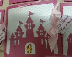 Convite castelo de Princesa