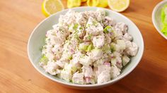 Classic Chicken Salad Sometimes you can't beat a classic. Cooking Videos Tasty, Tasty Videos, Food Videos, Cooking Recipes, Chicken Curry Salad, Chicken Salad Recipes, Tuna Recipes, Salad Recipes Video, Salad Recipes For Dinner