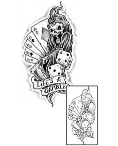 17 Best lifes a gamble tattoo images in 2017 | Tattoo