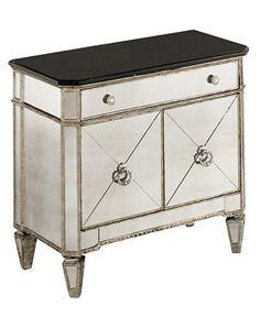 Marais Chest, Mirrored Small Chest - Furniture - Macy's