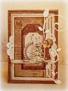 Maja design - it's christmas time card