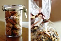 Kemasan Roti Biskuit dan Kue - Cloudberry Bakery | Contoh Desain