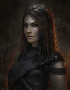 Kalee (Warrior Girl) by Dropdeadcoheed.deviantart.com on @DeviantArt