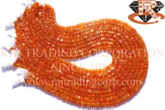 Carnelian Smooth Square (Quality B) Shape: Square Smooth Length: 36 cm Weight Approx: 16 to 18 Grms. Size Approx: 4.50 to 5.50 mm Price $10.28 Each Strand