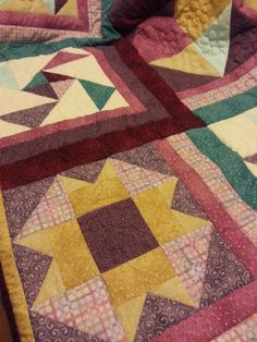 LaGrif Bijoux Geometrie e altre creazioni, Coperta patchwork. Handmade by LaGrif
